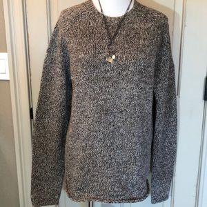 J. Crew Marled Cotton Knit Sweater Unisex